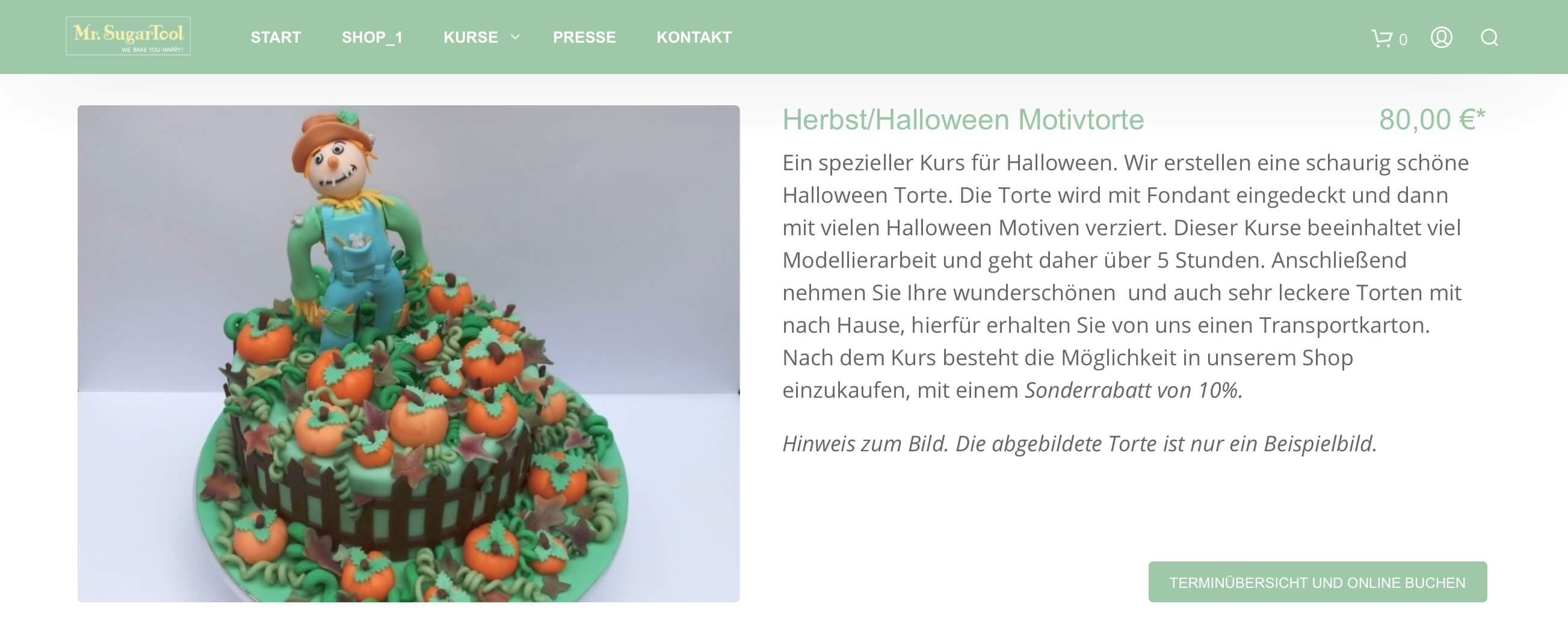 bookingkit 7 einfache Tipps für Halloween Motivtorte