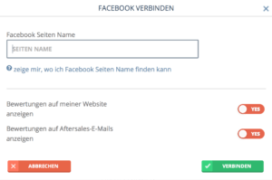 bookingkit-Kundenewertungen-Tripadvisor-Google-Facebook-Verbinden-Facebook