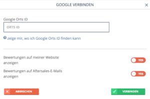 bookingkit-Kundenbewertungen-Tripadvisor-Google-Facebook-Verbinden-Google