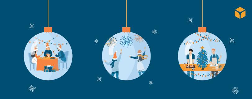 Una chance per questo settore di attività: Le grandi feste natalizie aziendali si stanno trasformando in piccoli eventi a livello di team